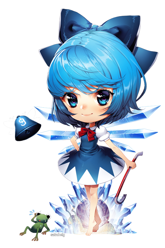 cirno by Satchely