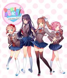 Doki Doki Literature Club by Satchely