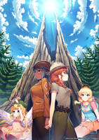 National Park Girls by Satchely
