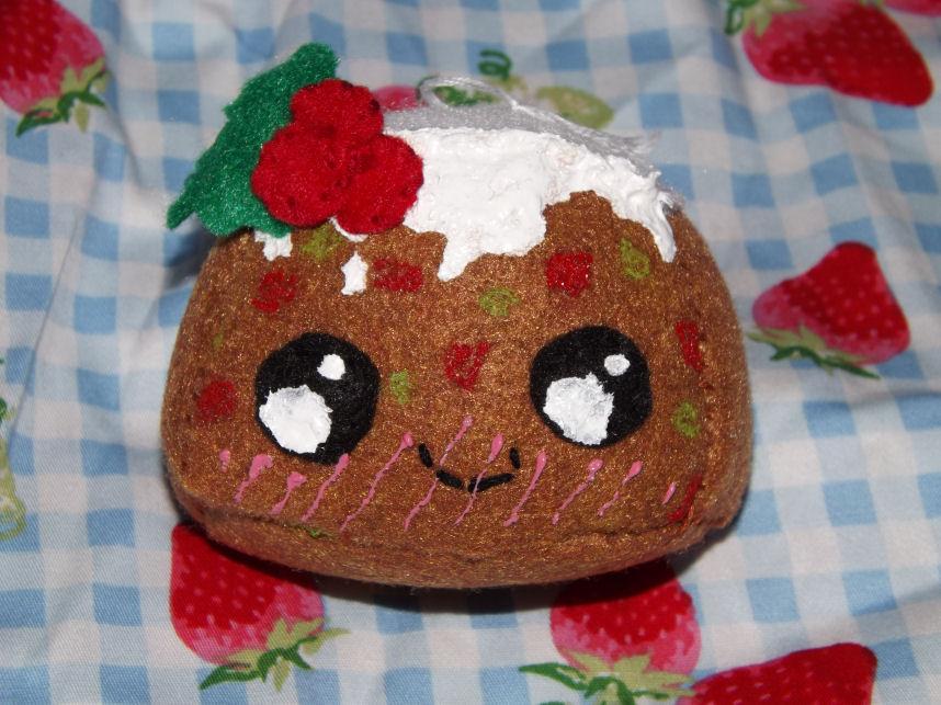 Fruit Cake Ornament by Mishaila