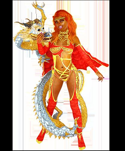 Mother of Dragons loving embrace DA stash by coastbeachartist