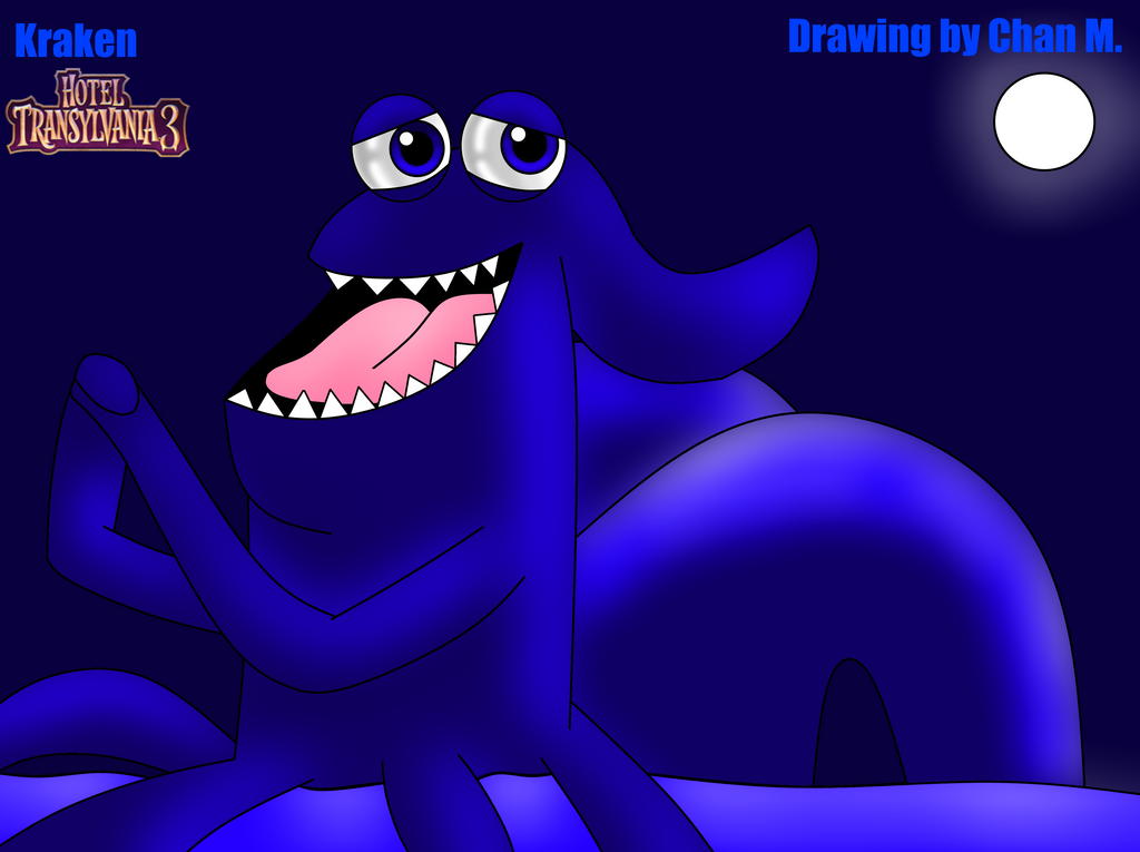 I Draw Kraken For My First Time By Nordicwiiu7 On Deviantart