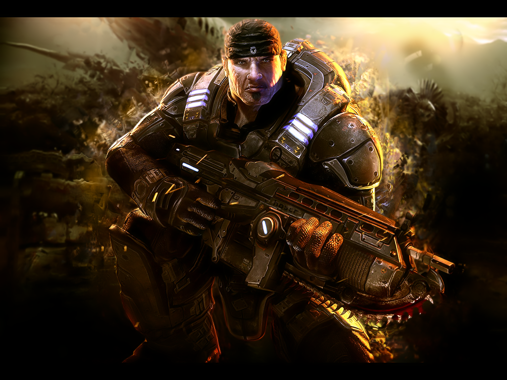 Gears Of War Wallpaper By Whitysb On Deviantart
