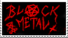 Black Metal Stamp by Killjoy1230
