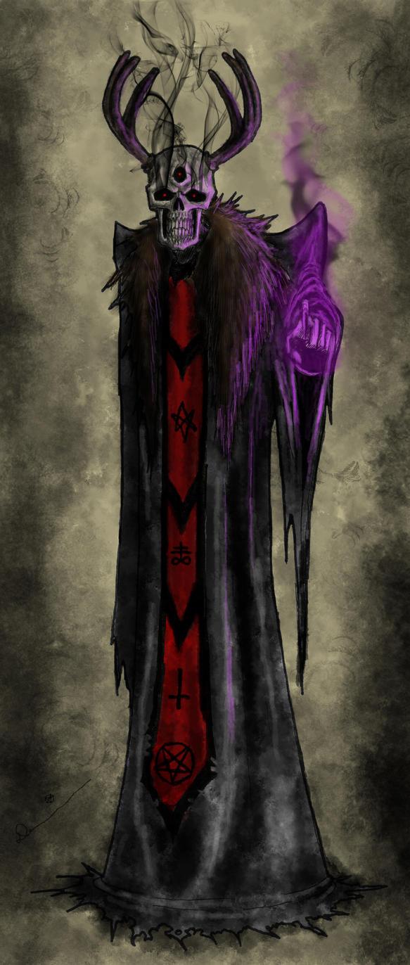 Xadek, The Lich of Gormly Tower by Killjoy1230