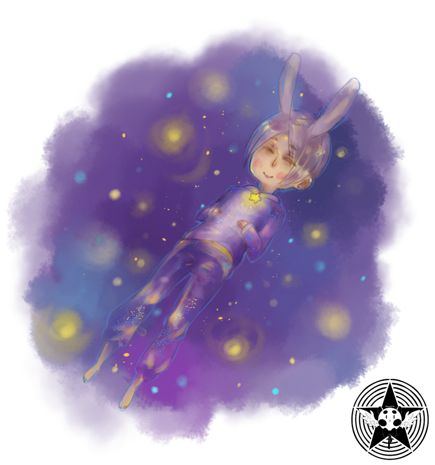 Sleepy bunny by Cat-Sin