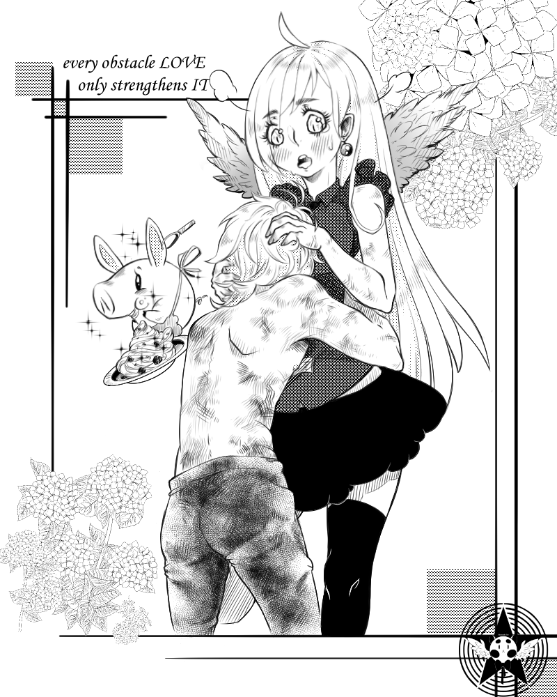 The Seven Deadly Sins - Nanatsu no Taizai (art) by Cat-Sin