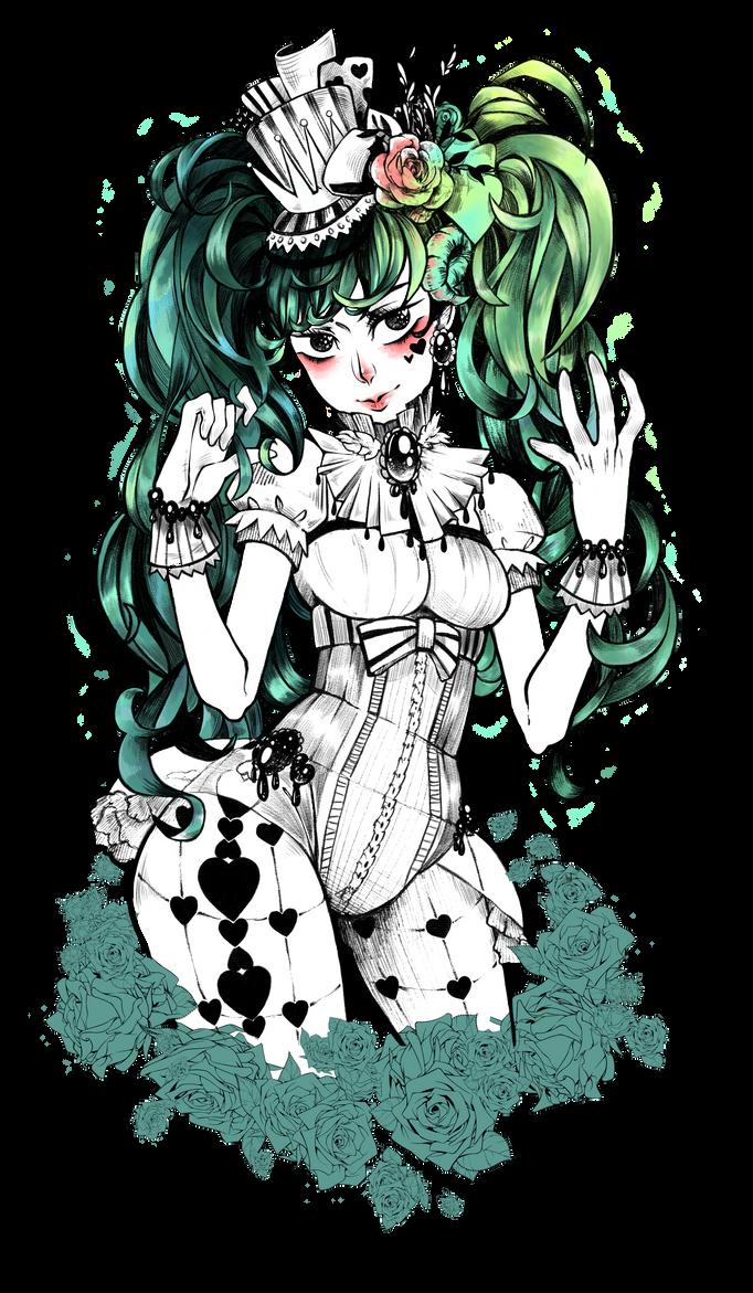 Hatsune Miku by Cat-Sin