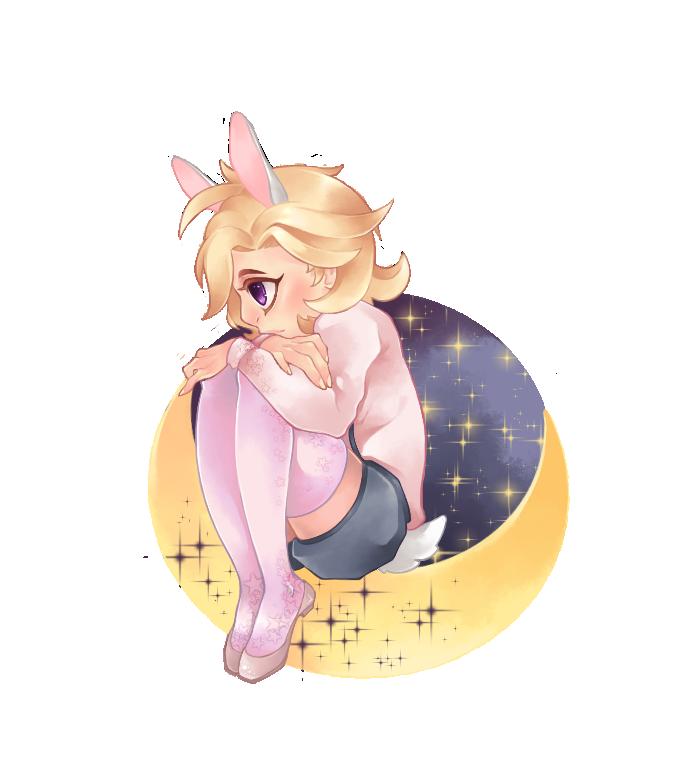 Moonlight Bunny by Cat-Sin