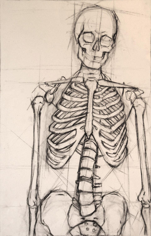 Skeleton by xaviar12321