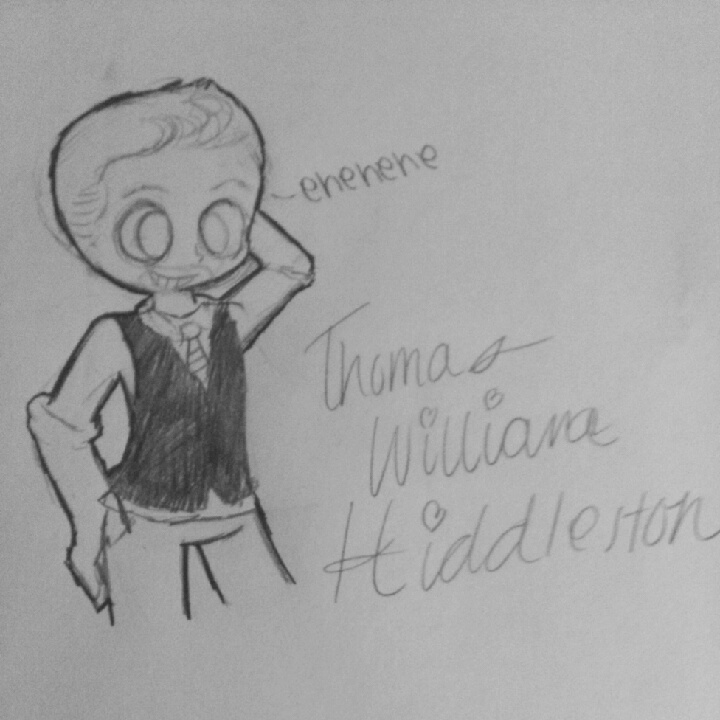 Thomas William Hiddleston by AssbuttCasbutt