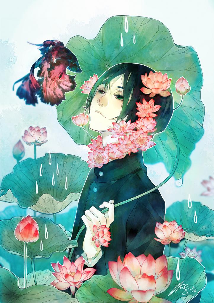 Aqualumina: Lotus by megounette