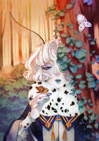 Forest Moth  by megounette