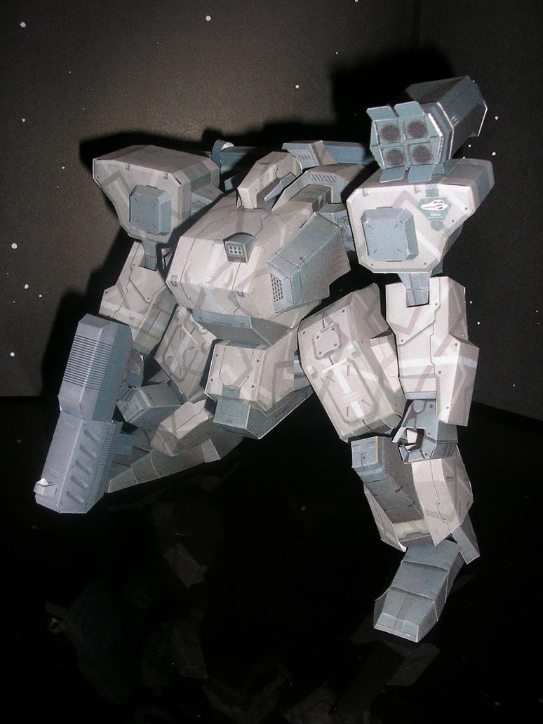 Papercraft Blizzaia L by ShowOff77