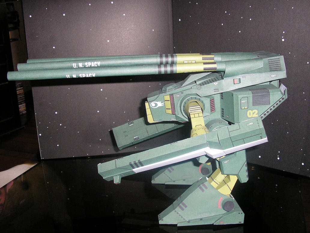 Papercraft HWR-00 Monster MkII by ShowOff77