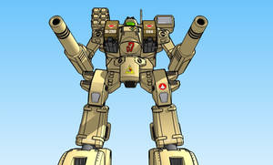 MBR-04Mk VI  Tomahawk Destroid