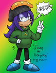 Jacey The Hedgehog DO NOT STEAL by Jacey-Chase