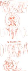 Sole Survivor mac and han meet initial sketch by SaukuroZ