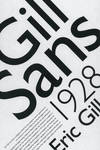 Gill Sans Project by jswanezy