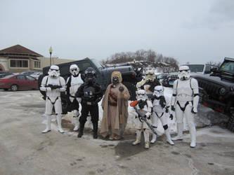 Colin's Crew Polar Dip 2/21/15