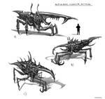 Alien Bug sketching