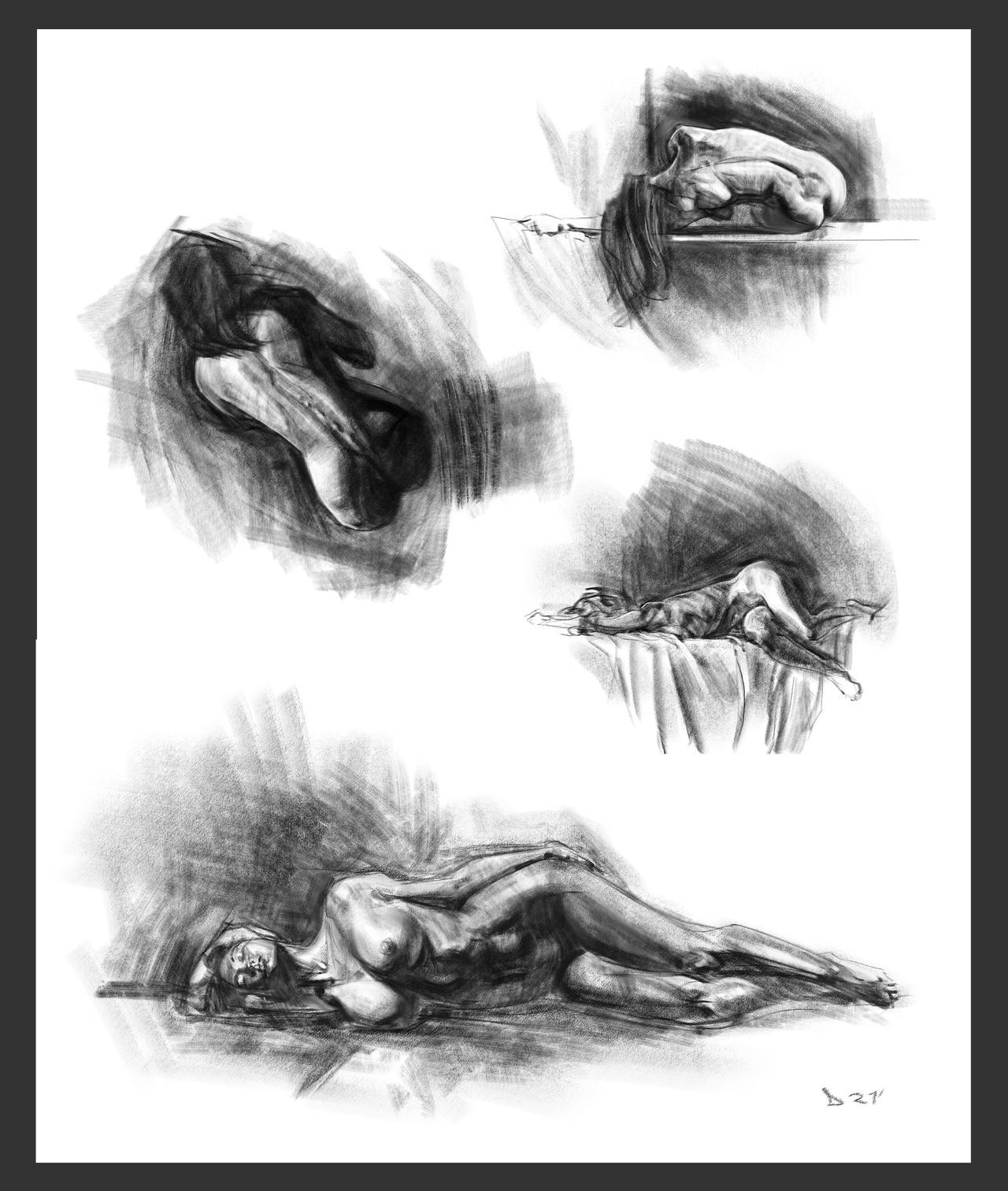 Charcoal studies pt 2