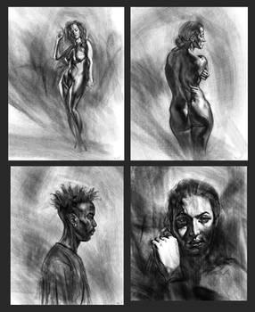 Charcoal Studies pt 3