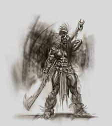 Orc Warrior sketch