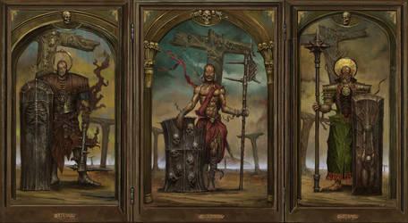 Crusade Triptych