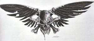 skull an cross bones