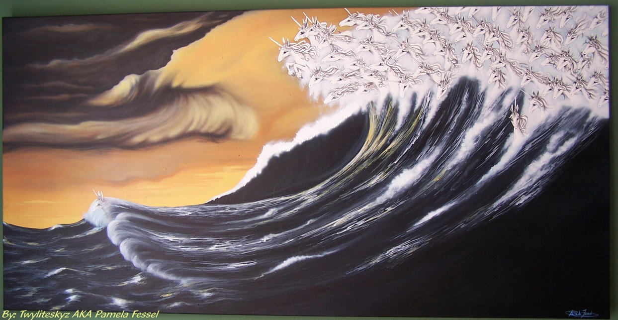 the last unicorn wave by twyliteskyz