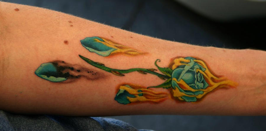 fire tattoos