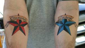 nautical stars tattoo