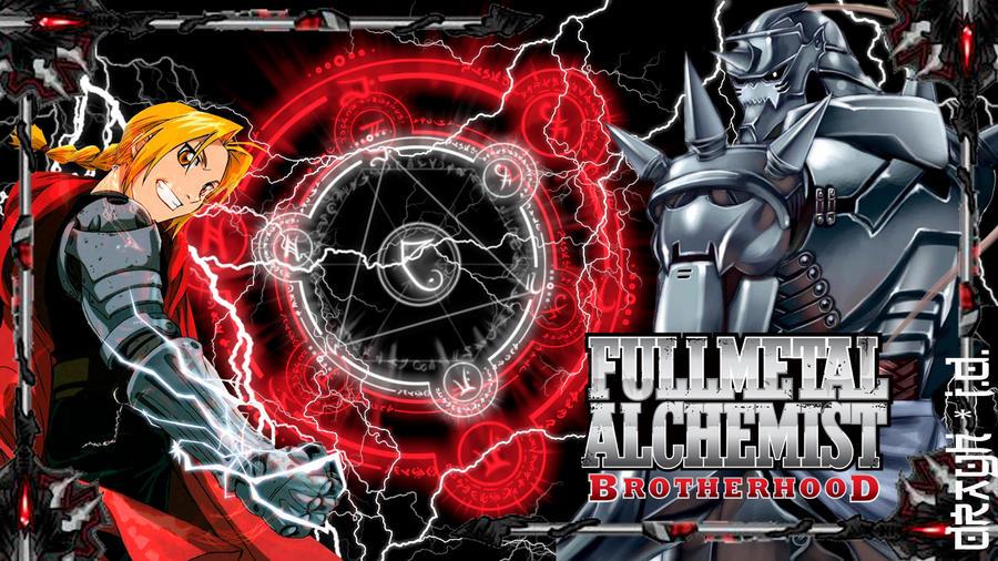fullmetal alchemist brotherhood wallpaper by drayh1985 on