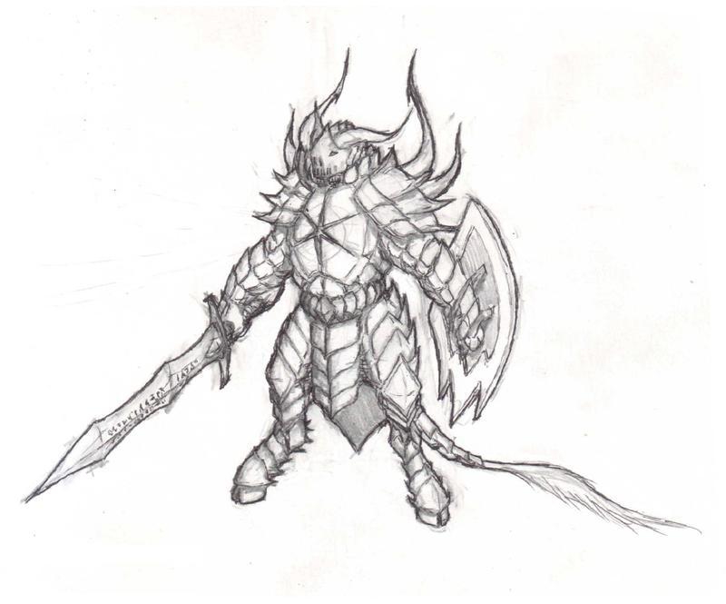 the white demon knight - photo #13