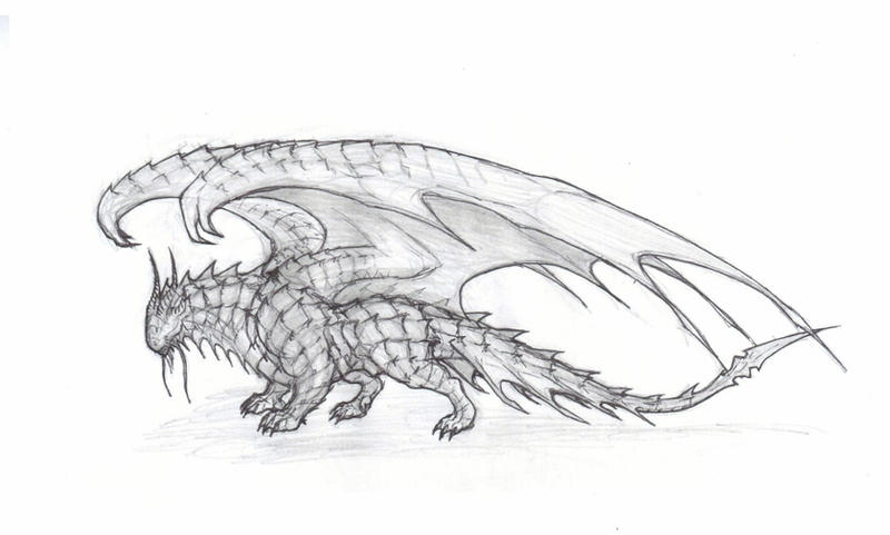 346 Dragon WIP by krigg