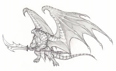 dragonoid by krigg
