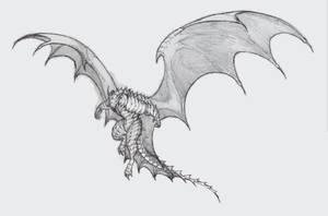 Anthro dragon by krigg