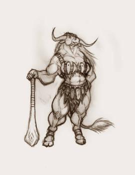 Minotaur female 4