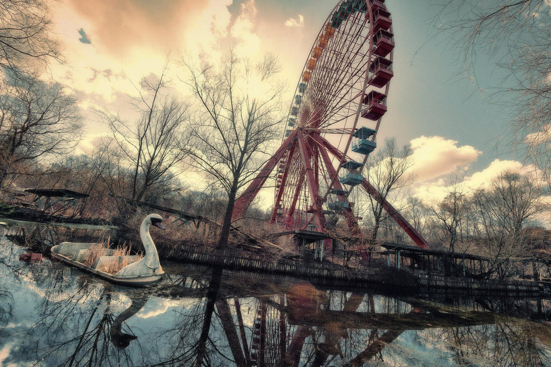 Spreepark ABANDONED Theme Park - Berlin - Germany. - YouTube