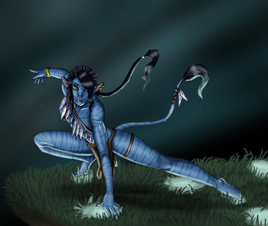 Navi -- girl -- Avatar by Louskan on DeviantArt