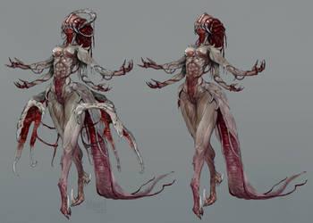 Flesh lady