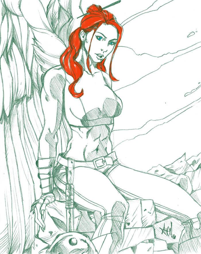 Hawkgirl by NinjaMonkeyBoyX