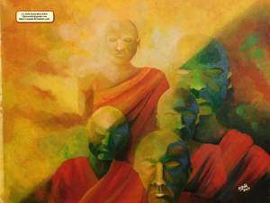 The monks CJ Judd Artist 2017 s
