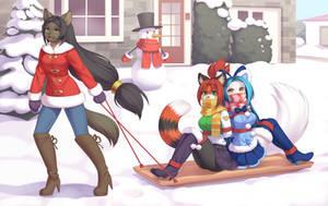 Snowy Sleighride