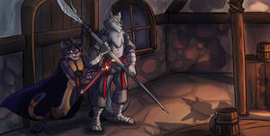 Legends From Larkanum - The Rogue And The Fighter