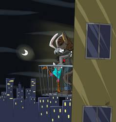 Bunny Balcony by Phoenix295
