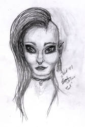 Quick Sketch #1 Punk Girl