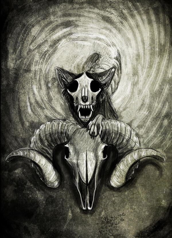 I Am The Skull by xXKitsune
