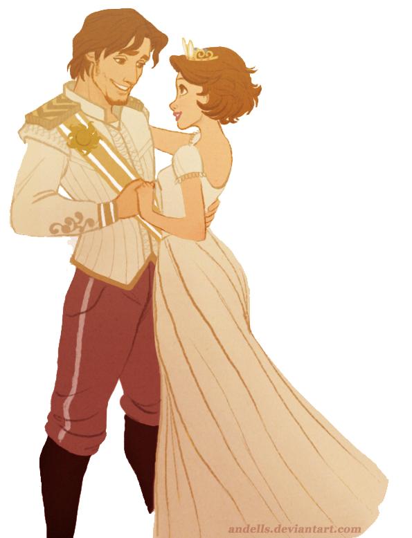 Flynn Rider And Rapunzel Fan Art Randomnies: Tangled Fa...